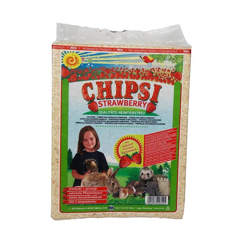 Chipsi Çilekli Talaş 60 Lt