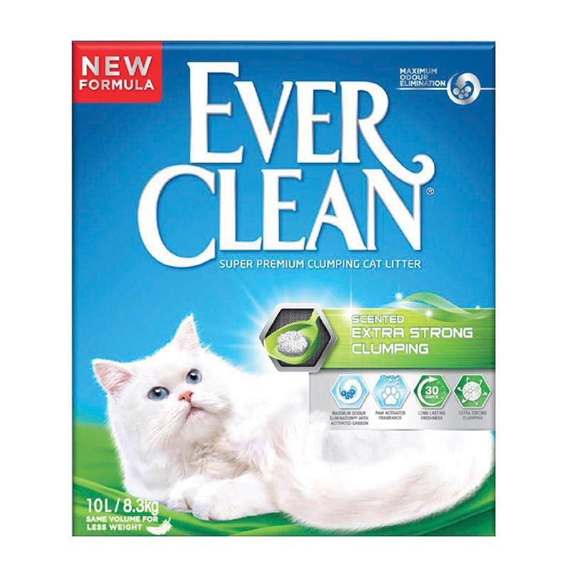 Ever Clean Extra Strong Scented Kokulu Kedi Kumu 10 Lt