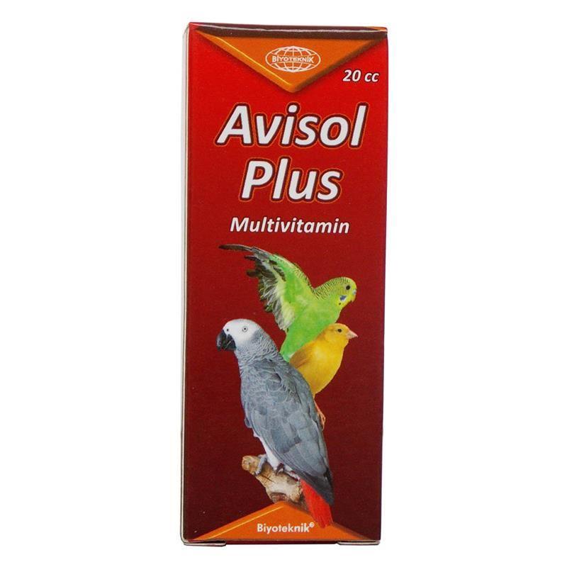 Biyo Avisol Kuşlar İçin Plus Multivitamin