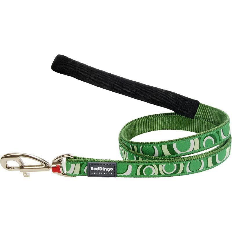 Reddingo Circadelic Desenli Yeşil Uzatma Köpek Tasması 15 Mm