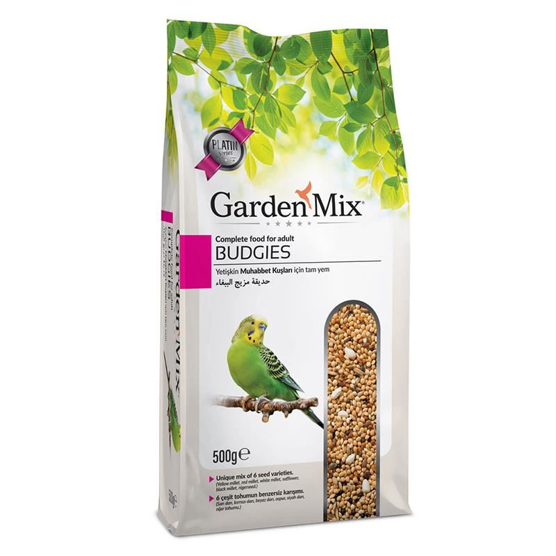 Gardenmix Platin Muhabbet Kuş Yemi 500 Gr