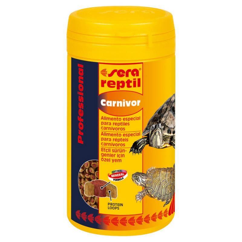 Sera Reptil Professional Carnivor Etçil Kaplumbağa Yemi 250 Ml