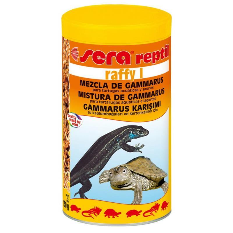 Sera Raffy I Gammarus Karışımı Kaplumbağa Yemi 100 Ml / 12 Gr