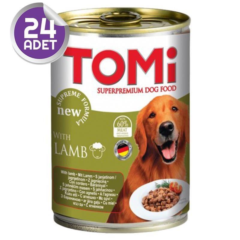 Tomi Kuzu Etli Köpek Konservesi 400 Gr 24 ADET