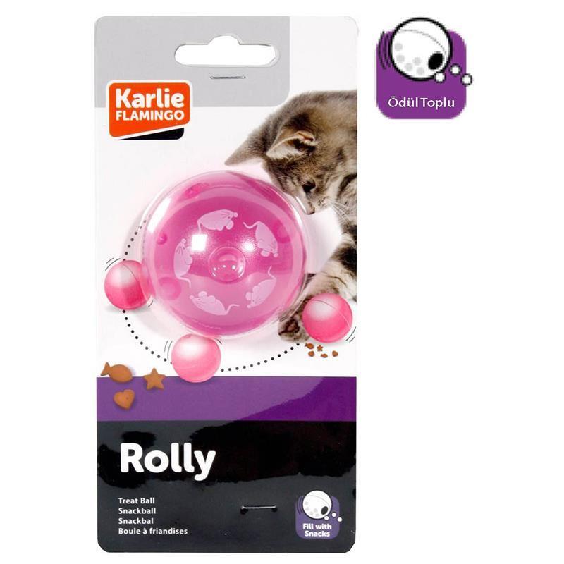 Karlie Kedi Oyuncağı Ödül Topu 5,5 Cm