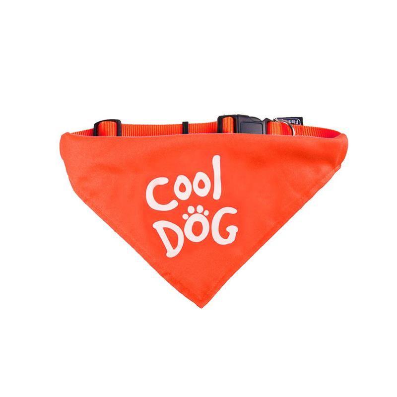 Karlie Cool Dog Bandanalı Kırmızı Köpek Boyun Tasması 15 Mm 22-40 Cm