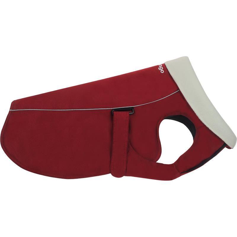 Reddingo Kırmızı Nubuk Mont Köpek Elbisesi 35 Cm