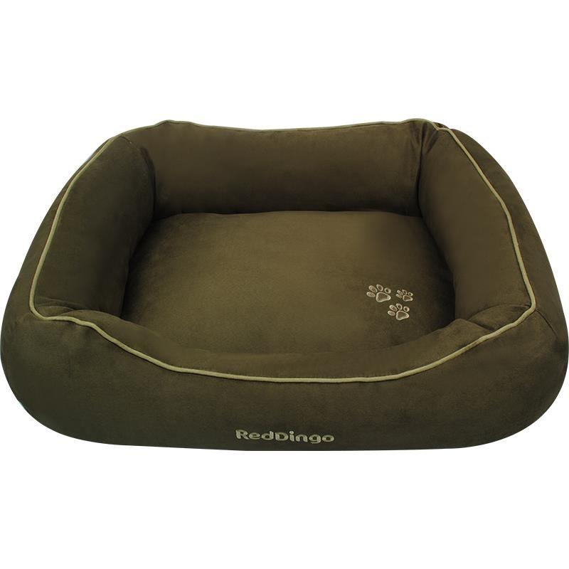 Reddingo Yeşil Köpek Yatağı Large
