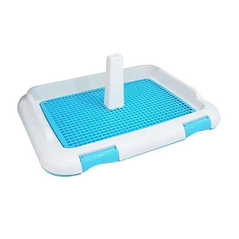 DIIL Duvarsız Köpek Tuvalet Eğitim Seti Mavi 66 Cm