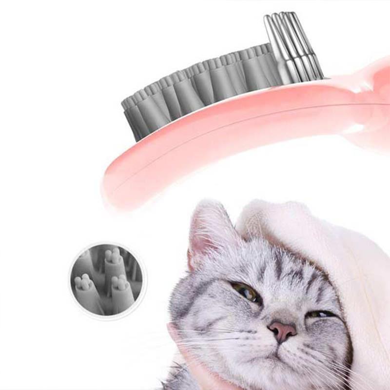 Cat Idea Banyo Fırçası Pembe