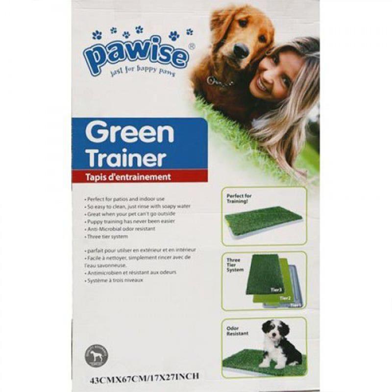 Pawise Köpek Tuvalet Eğitim Yapay Çim 42,5x67,5 Cm