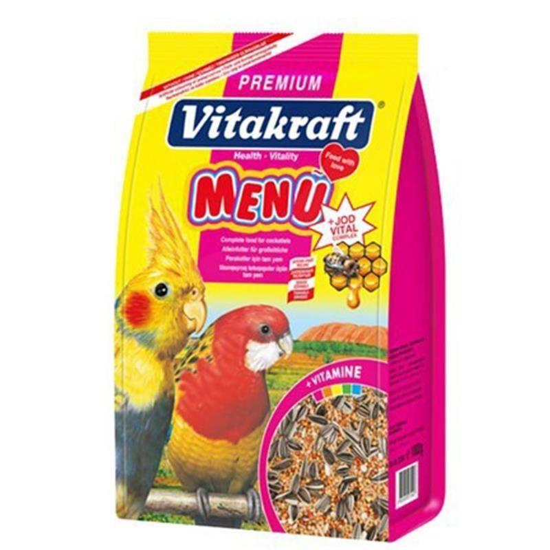 Vitakraft Premium Menü Jod Vital Paraket Yemi 1 Kg