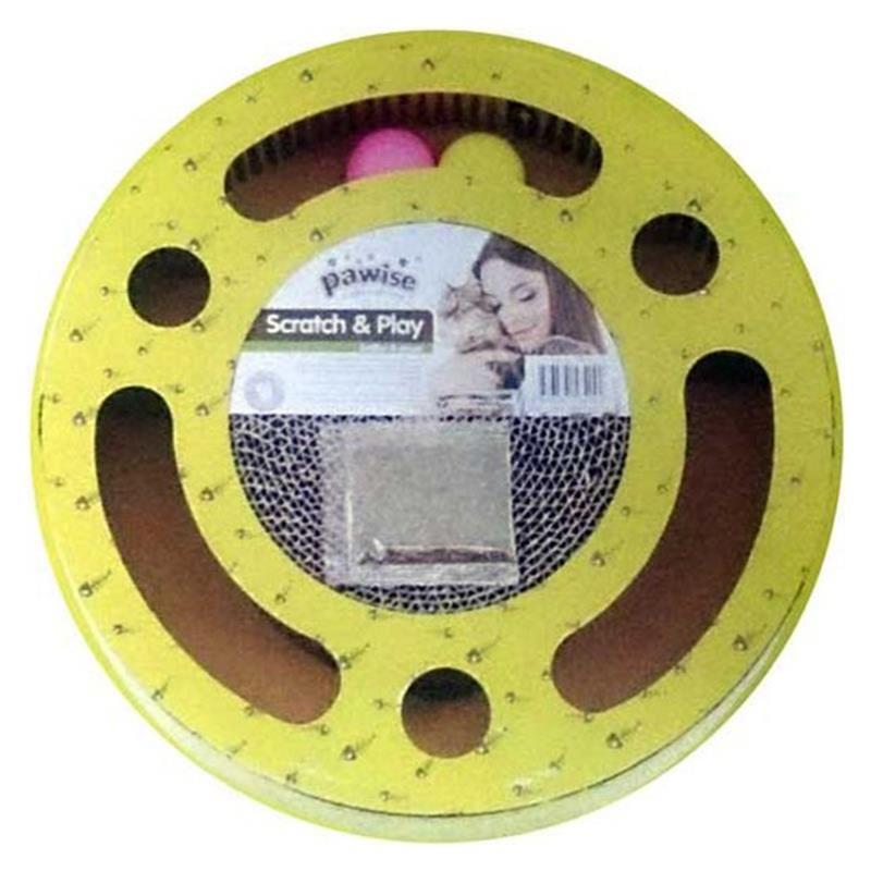 Pawise Karton Kedİ Oyun Toplu Tirmalama 33,5x5,5cm