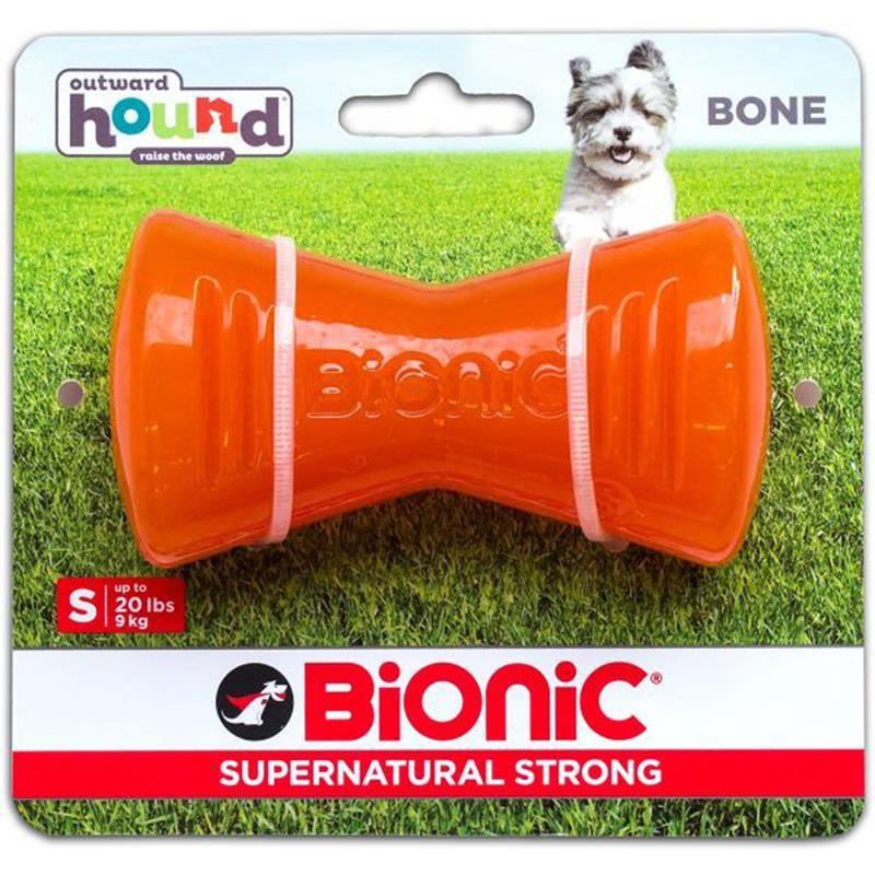 Outward Hound Bionic Urban Stick Small Turuncu Köpek Oyuncağı 8,5 Cm