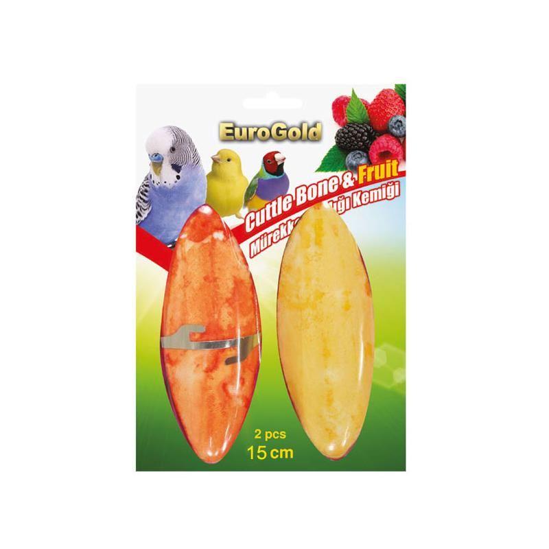 Eurogold Mürekkep Balığı Kemiği Meyveli 2 li 15 cm