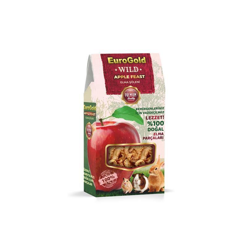 Eurogold Wild Elma Şöleni Doğal Kemirgen Yemi Katkısı 70 Gr