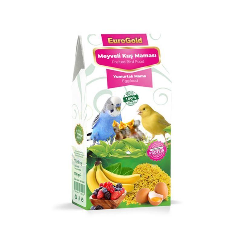 EuroGold Yumurtalı Meyveli Kuş Maması 100 gr