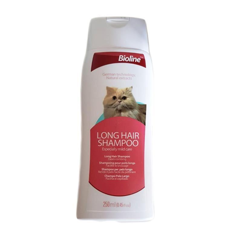 Bioline Uzun Tüylü Kedi Şampuanı 250 Ml
