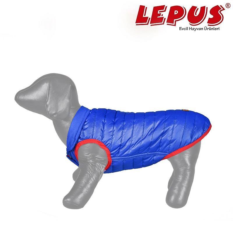 Lepus Küçük Irk Köpek Anorak Yelek Sax Mavi Small