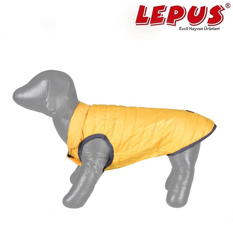 Lepus Küçük Irk Köpek Anorak Yelek Sarı Large