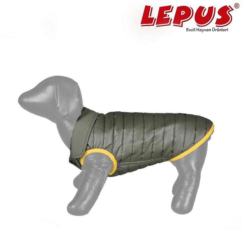 Lepus Küçük Irk Köpek Anorak Yelek Haki Small