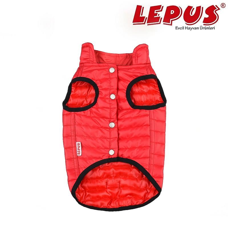 Lepus Küçük Irk Köpek Anorak Yelek Kırmızı Medium