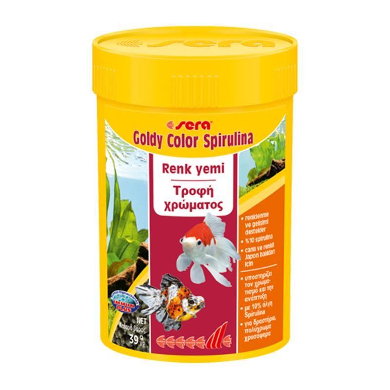 Sera Goldy Color Spirulina 100 Ml 39 Gr