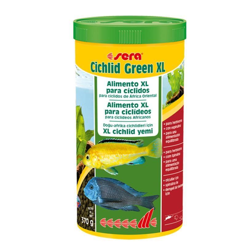 Sera Cichlid Green XL Otçul Cichlid Yemi 1000 Ml
