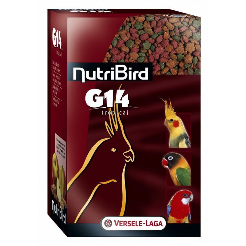 Versele Laga Nutribird Tropikal G14 Pelet Papağan Yemi 1 Kg