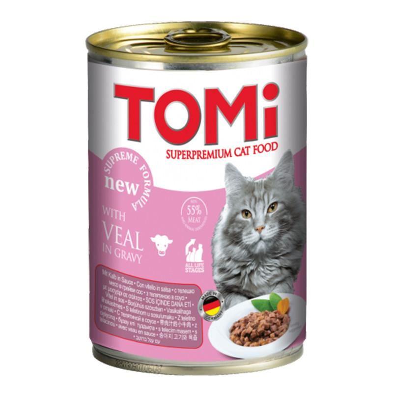 Tomi Dana Etli Kedi Konservesi 400 Gr
