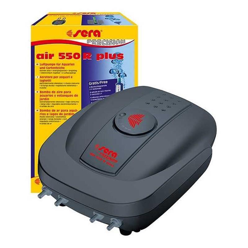 Sera Akvaryum Dört Çıkışlı Hava Pompası Air 550 R Plus