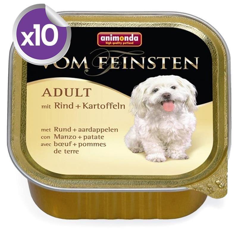 Animonda Sığır Eti ve Patatesli Köpek Konservesi 150 gr x10 Adet
