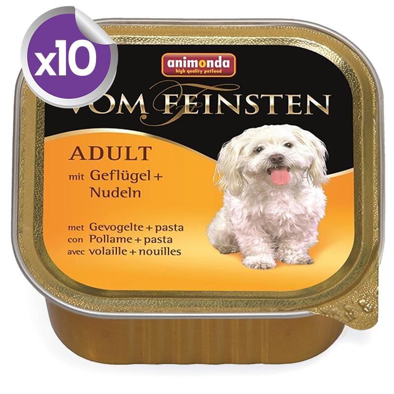 Animonda Kümes Hayvanlı Makarnalı Köpek Konservesi 150 gr x10 Adet