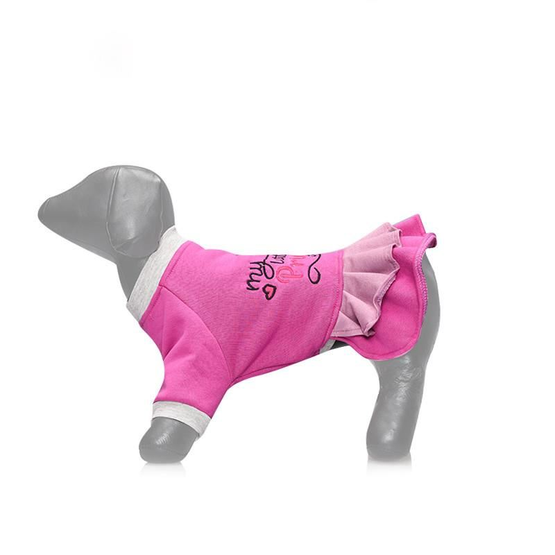 Lepus Küçük Irk Köpek Kışlık Elbise Lila Small