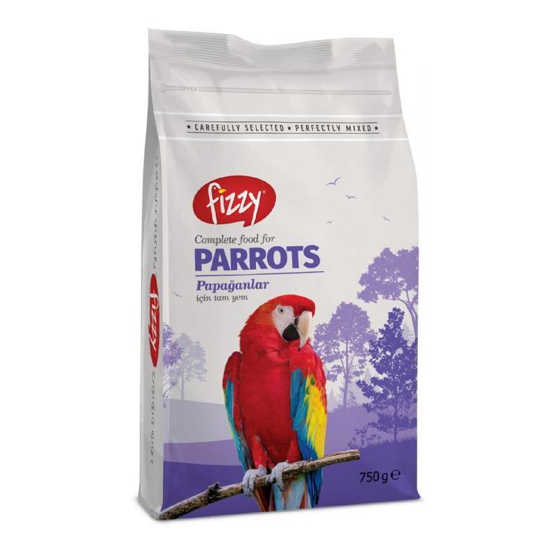 Fizzy Premium Papağan Yemi 750 gr