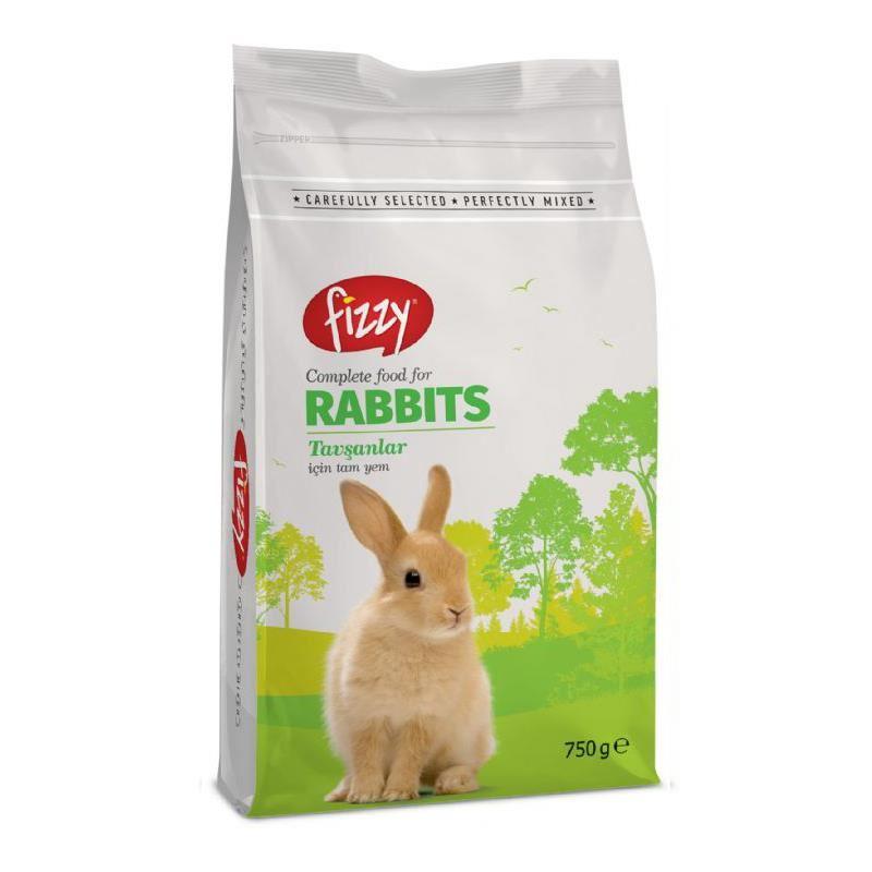 Fizzy Premium Tavşan Yemi 750 Gr