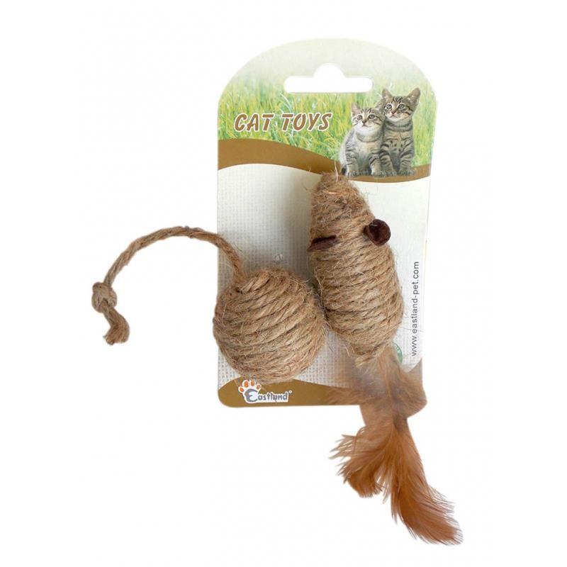 Eastland Kedi Oyuncağı Toplu Fare 7 Cm