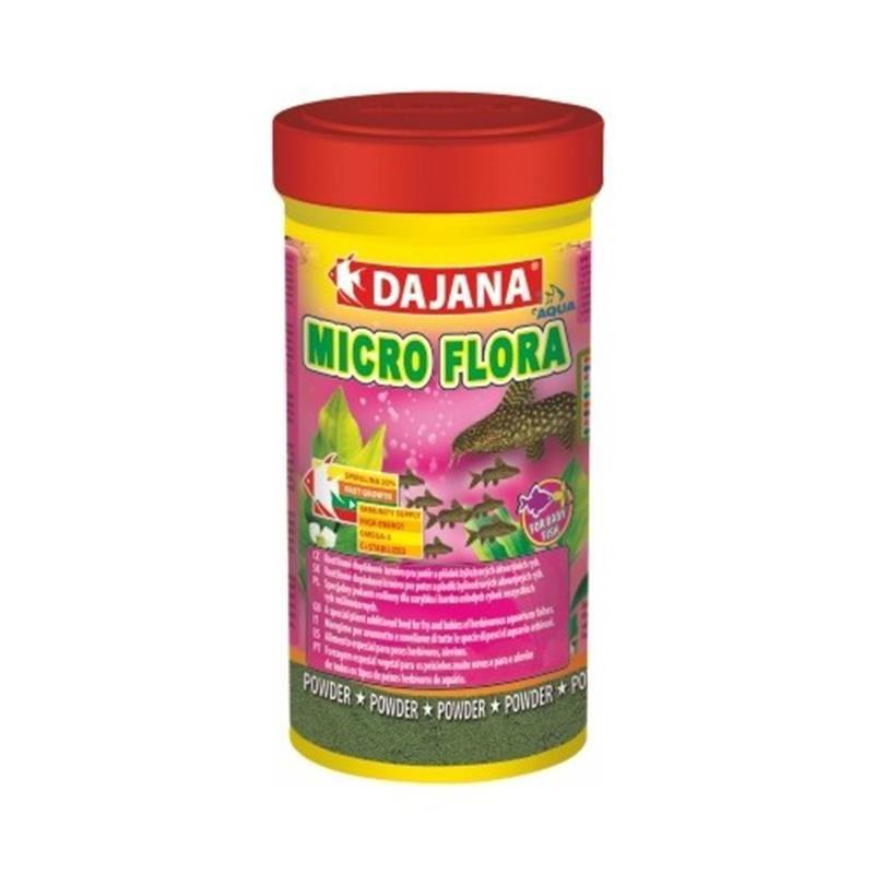 Dajana Tropical Micro Flora Bitkisel Granül Balık Yemi 100 Ml 50 Gr