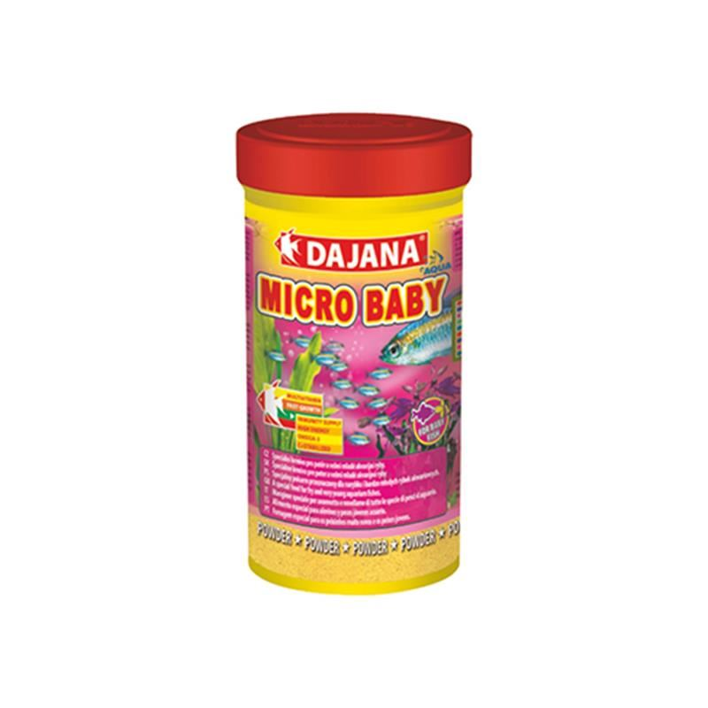 Dajana Tropical Micro Baby Granül Yavru Balık Yemi 100 Ml 50 Gr