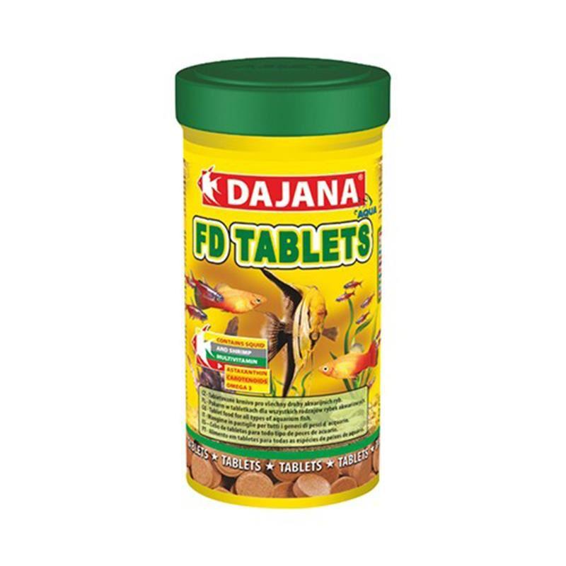 Dajana FD Tropical Balıkları İçin Tablet Yem 100 Ml 50 Gr