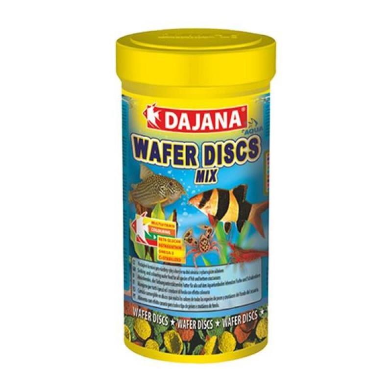 Dajana Wafer Discs Mix Yem 250 ml 100 Gr