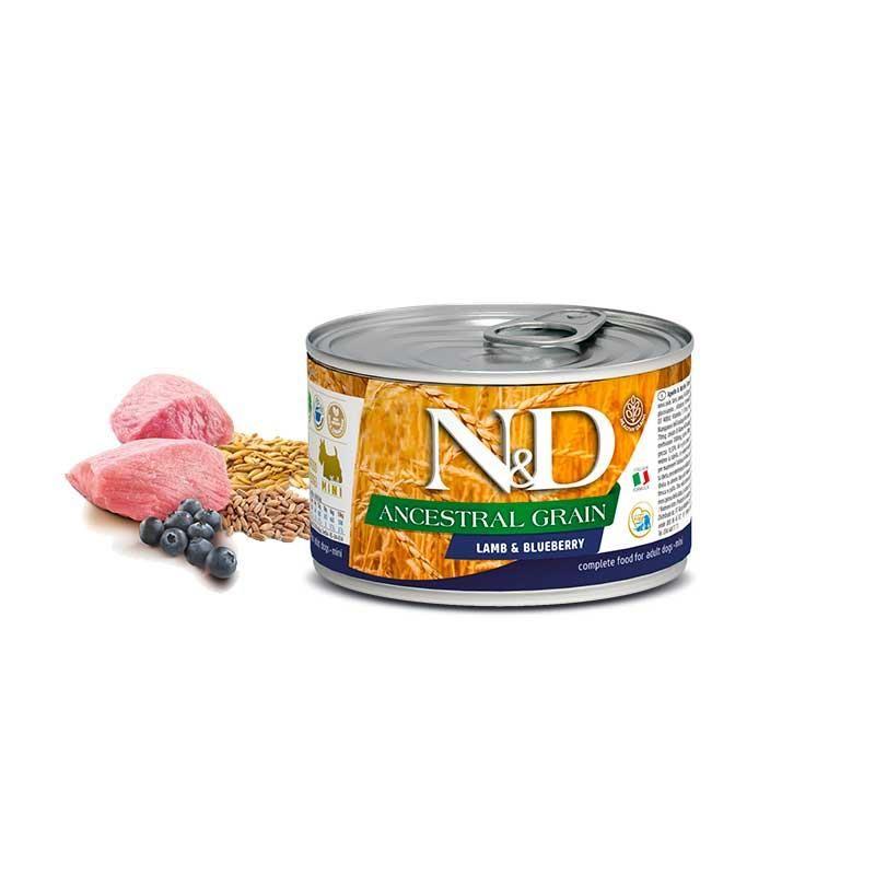 ND Düşük Tahıllı Kuzu Etli Mini Köpek Konserve Maması 140 gr