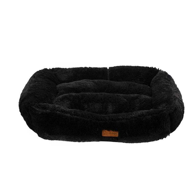 Dubex Brownie Peluş Kedi Köpek Yatağı Dikdörtgen Gri Small