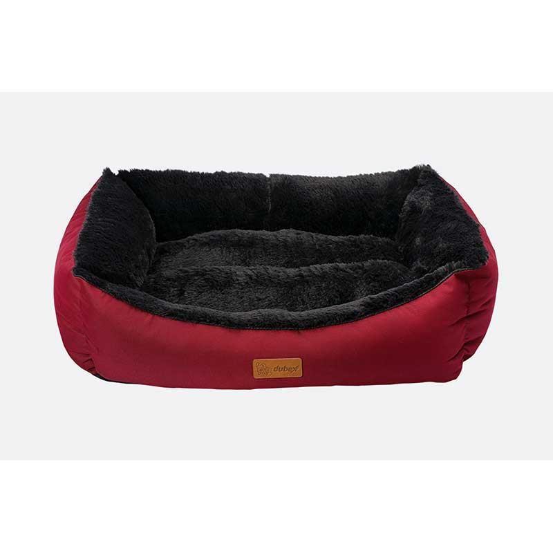 Dubex Jellybean Kedi Köpek Yatağı Bordo Medium