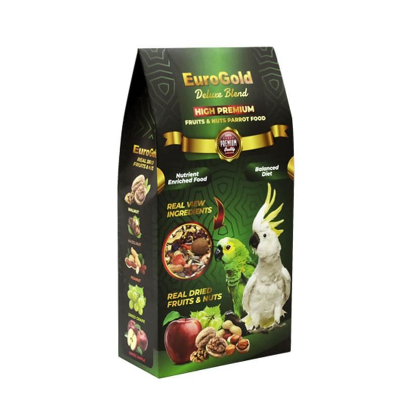 EuroGold Deluxe Papağan Fruits&Nuts 650 Gr