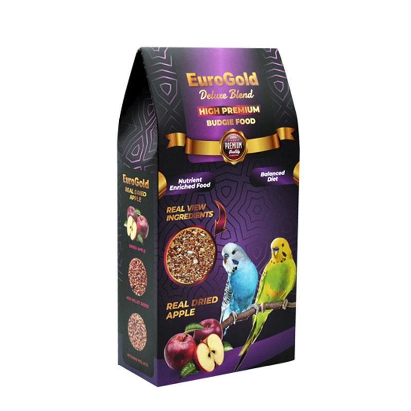 EuroGold Deluxe Blend Gerçek Elmalı Premium Muhabbet Yemi 1 Kg