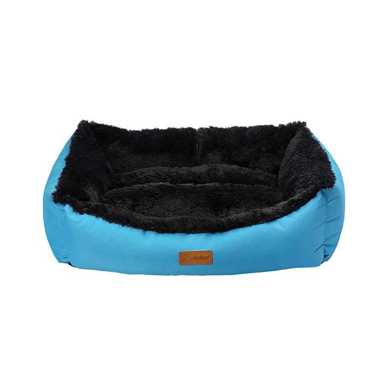 Dubex Jellybean Kedi Köpek Yatağı Mavi Large