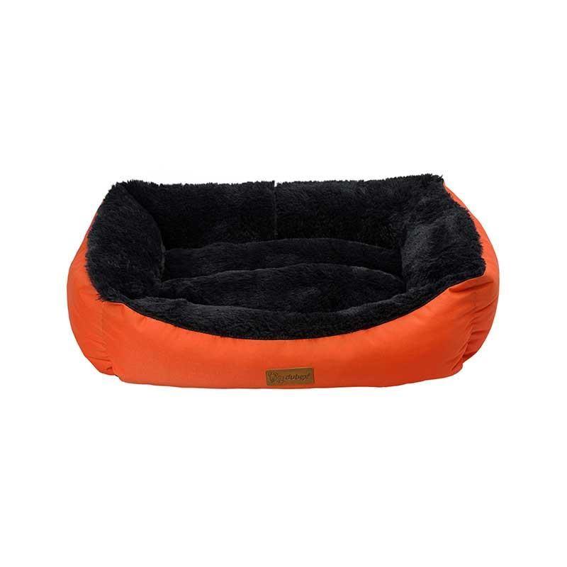 Dubex Jellybean Kedi Köpek Yatağı Turuncu Large