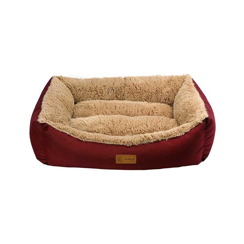 Dubex Jellybean Kedi Köpek Yatağı Bordo Small