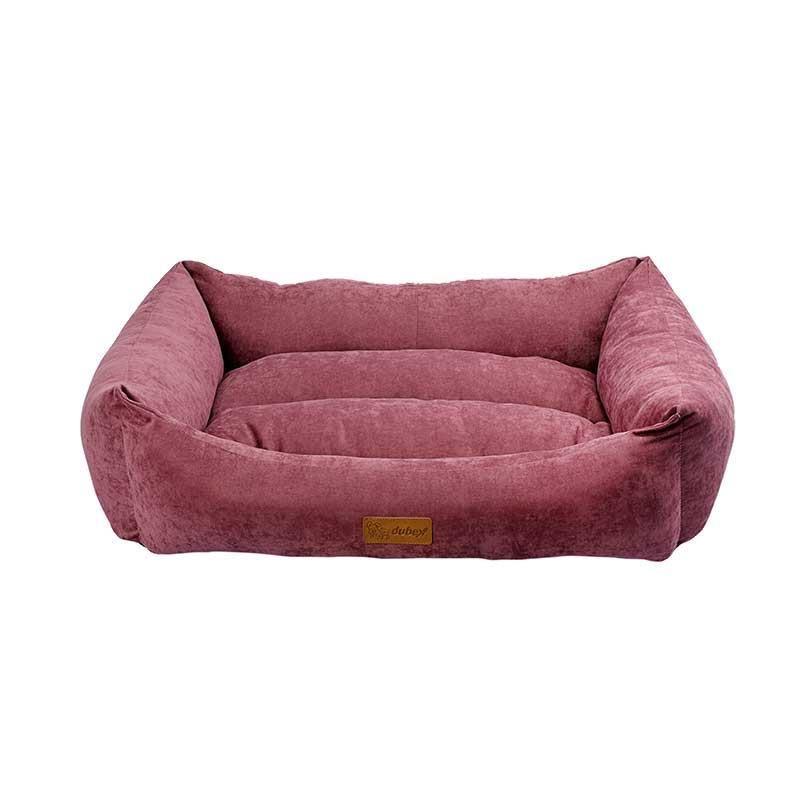 Dubex Cookie Kedi Köpek Yatağı Gül Kurusu Medium